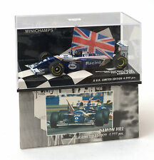 Minichamps 1:43 WILLIAMS RENAULT fw16 Vincitore GP BRITANNICO D. Hill RIF. 433 940101
