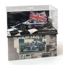 Minichamps 1:43 Williams Renault FW16 Winner British GP D.Hill Ref. 433 940101