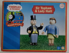 THOMAS & FRIENDS WOODEN RAILWAY - SIR TOPHAM & LADY HATT 2007 EXTREMELY RARE HTF