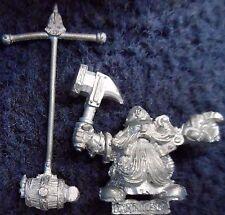 1993 Dwarf Engineer Guildmaster Burlock Damminson Miner Sapper Citadel Warhammer
