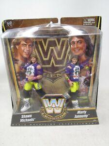 2010 Mattel WWE LEGENDS  *SHAWN MICHAELS & MARTY JANNETTY* THE ROCKERS (NOS)