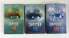 Lot 3 Shatter Me Series #1 2 3 (PB) Tahereh Mafi Unravel Me Ignite Me