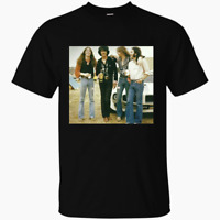 Thin Lizzy Band Rock Tee Tour Men Black Cotton T-shirt All Size S-4XL AAA092