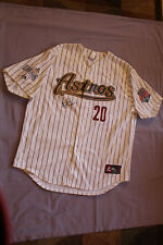 J.D. MARTINEZ MILB AUTOGRAPH GAME USED JERSEY 2010 SAL ALL STAR ASTROS REDSOX