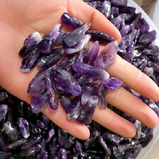 100g Natural Lot of Tiny Clear Amethyst Quartz Crystal Rock Chips AAA+++
