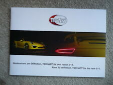 TECHART PORSCHE 911 BROCHURE jm