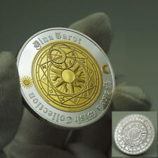 Tarot Sun Moon Geomancy Constellation Lucky Wish Silver&Gold Coin Collectible US