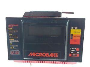 Vintage 1986 Microbake Childs Electric Oven Like Easy Bake Please Read