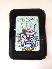 69500 ED HARDY Gasfeuerzeug avec jetflame Bulldog