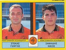 N°380 PLAYERS KOLINDROS GREECE PANINI GREEK LEAGUE FOOT 95 STICKER 1995