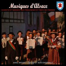 CD Musiques et Danses d'Alsace - Michel Ludwig