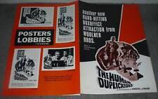 THE HUMAN DUPLICATORS original 1964 movie pressbook RICHARD KIEL/GEORGE NADER