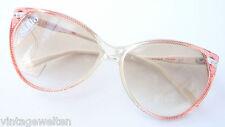 Safilo Damen Sonnenbrille Shopping braun Verlaufgläser Glitzersteindecor size M