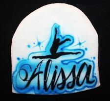 Personalized Beanie Hat Any Name Birthday Dance Team Cap Girl Princess Birthday