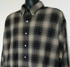Polo Ralph Lauren Men's 2XL Shirt Blake Cotton L/S Plaid EUC