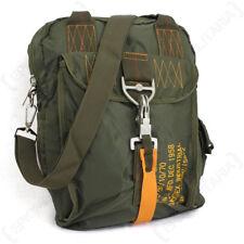 Olive Green Para Messenger Bag - USAF Airforce Paratrooper Shoulder Pack New