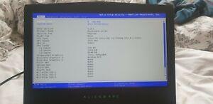 "Alienware 15 R3 15.6"" Laptop i5-7300HQ 8GB GTX 1060 6GB - Broken Fan - No HDD"