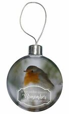 Little Robin Red Breast Christmas Tree Bauble Decoration Gift, Robin-1CB