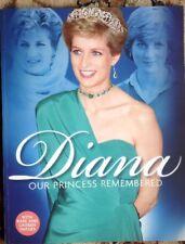 Princess Diana Our Princess Remembered 20th Year New Rare UK All Photos Magazine