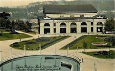 East Liverpool OH Round Pool or Fountain @ Rock Springs Dance Pavilion~c1910 pc