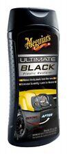 Meguiar 's ultimate black plastic restorer g15812 355ml protection uv et brillance