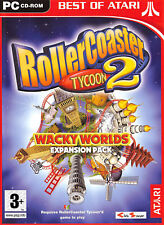 Best of Atari Rollercoaster Tycoon 2 Wacky Worlds Exp Pack PC Ean3546430112465