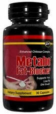 1 Bottle PowerNutra Metabo Fat Blocker Diet Pill Lose Weight Fast 90Ct Chitosan