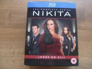Nikita - The Complete Series (Blu-ray) Maggie Q, Shane West, Lyndsy Fonseca