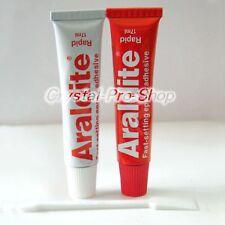 6 set x Araldite Belgium ( 5 minutes Rapid ) AB Epoxy Adhesive Applicator Glue