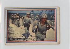 1953 Topps Fighting Marines #2 On the March Non-Sports Card 0x7