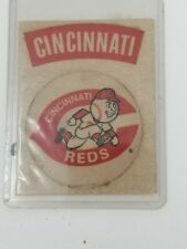 Vintage 1960s Cincinnati Reds Mr. Red Running Fleer Sticker Red C Old Logo