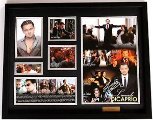 New Leonardo DiCaprio Signed Limited Edition Memorabilia Framed