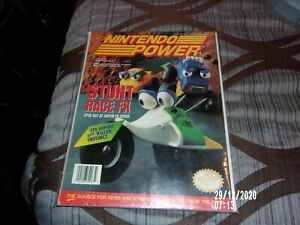 NINTENDO POWER VOLUME #63 STUNT RACER FX