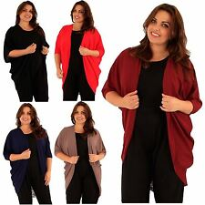 Polyester 3/4 Sleeve Plus Size Jumpers & Cardigans for Women