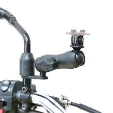 Mirror Camera Mount & Double Socket Standard Arm fits TomTom Bandit GoPro Adapto