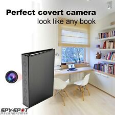 Spy Spot High Definition Covert Book Camera Motion Activated With Night Vision