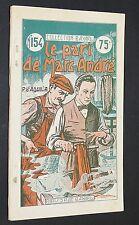 COLLECTION BAYARD ROMAN JEUNESSE N°154 1934 LE PARI DE MARC-ANDRE P. D'AQUILA