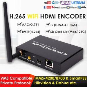H.265/H.264 HDMI Video Encoder HTTP RTSP RTMP UDP to IPTV Live Stream Streaming