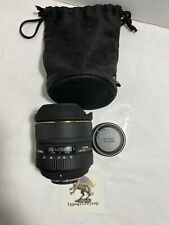 Zoom SIGMA x Nikon 12 24 mm f 4.5 5.6 EX DG HSM Autofocus obiettivo