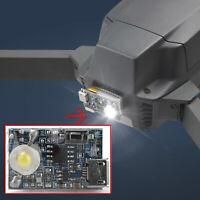 Proyector LED Noche Luz Faro Lámpara navegación apto para DJI Mavic Mini Drone