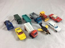Vintage Matchbox Diecast Car Lot Of (10) Lesney England Lamborghini + More