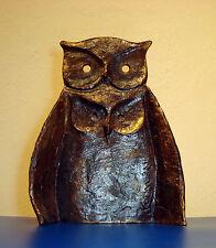 Big Bronze Owl Art Sculpture