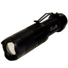 Zoomable MINI 18650 Battery Torch 1600 Lumen CREE XML T6 5 Mode Zoom Flashlight