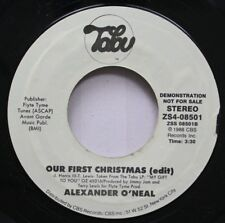 Soul Nm! 45 Alexander O'Neal - Our First Christmas (Edit) / My Gift To You On Ta