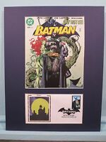 DC Comic Book Hero Batman vs. Catwoman & Poison Ivy & First Day Cover