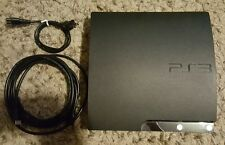 Sony Playstation 3 PS3 SLIM 3.55* 120GB HDD  CECH2001 with 15 ft HDMI