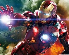 Marvels Avengers Iron Man Poster Wall Decor High Quality 16x20
