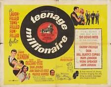 THE TEENAGE MILLIONAIRE Movie POSTER 22x28 Half Sheet