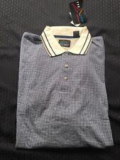 Greg Norman Collection Geo Print Golf Polo Shirt Size: XL