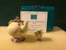 "WDCC Mrs. Potts & Chip Miniature ""Tea-toting Twosome"" Rare Artist Proof - NIB"
